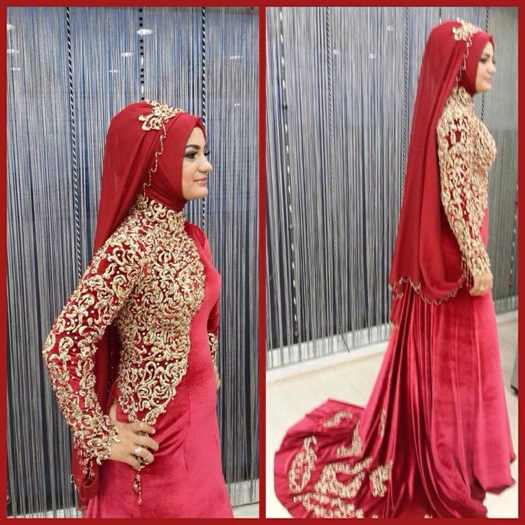 Hijab dress... Red