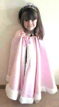 princess cape! best directions I have seen. Little Red Riding Hood anyone?