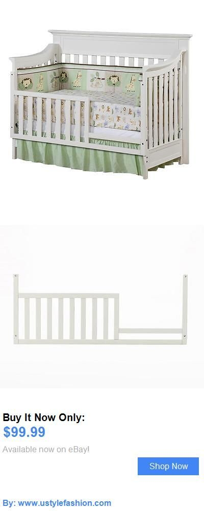 Nursery Furniture Sets: Baby Cache Covington Toddler Guard Rail - White BUY IT NOW ONLY: $99.99 #ustylefashionNurseryFurnitureSets OR #ustylefashion