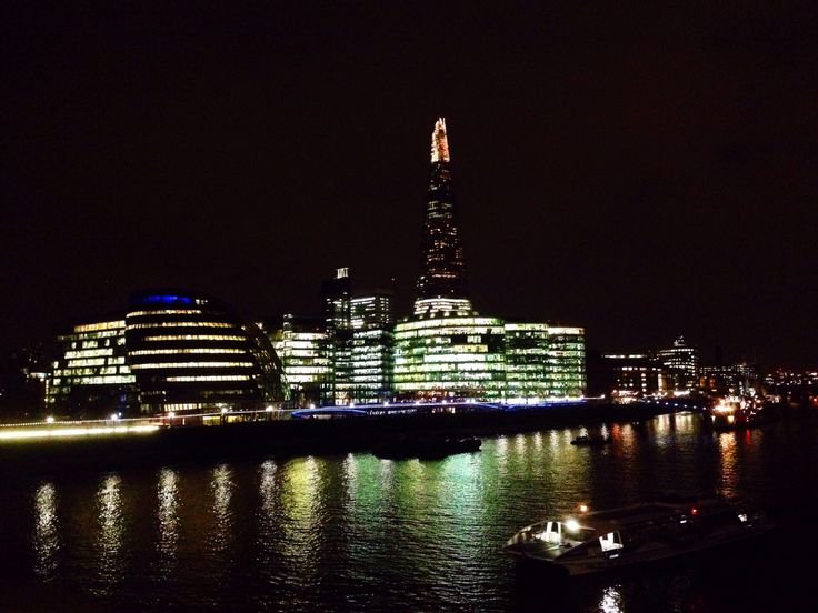 Still my fav view from The Tower Bridge ❤️  London at night