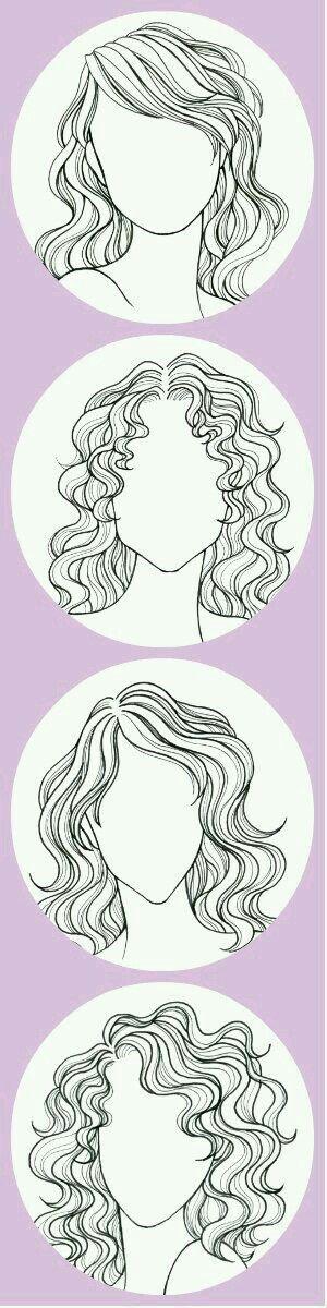 Saç modelleri.