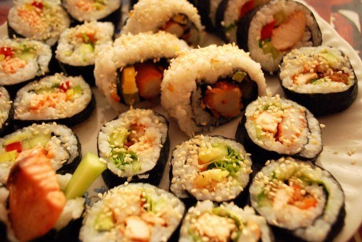 Sushi w różnych wariacjach