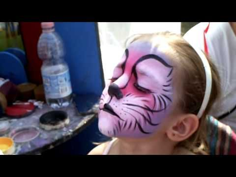 Learn to use and practice with round brushes - Face Painting Made Easy PART 3 - YouTube