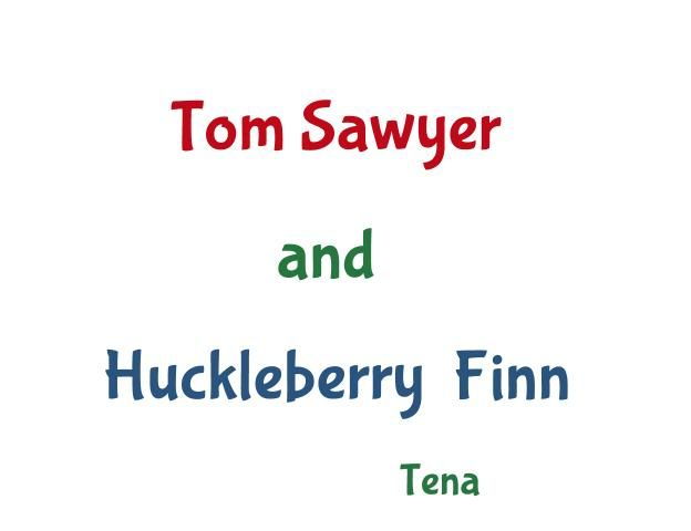 the unique characteristics of tom sawyer and huckleberry finn collide Mark twain's adventures of huckleberry finn was a follow-up to tom sawyer, and it dumps us right back in the southern antebellum (that's pre-war) world of tom and his wacky adventures only this time, the adventures aren't so much wacky as life- and liberty-threatening.