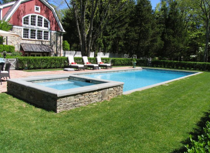 Attached Swimming Pool : Best finished pools by aqua doctor images on pinterest