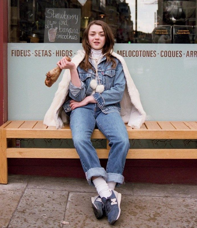 Image result for maisie williams street style