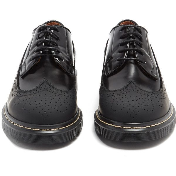 Joseph Trek-sole leather and rubber brogues (980 PEN) ❤ liked on Polyvore featuring shoes, oxfords, brogue dress shoes, leather brogue shoes, brogue shoes, brogue oxford and rubber shoes