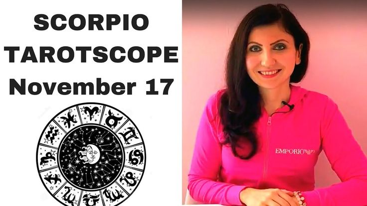 Scorpio November 2017 Tarotscope