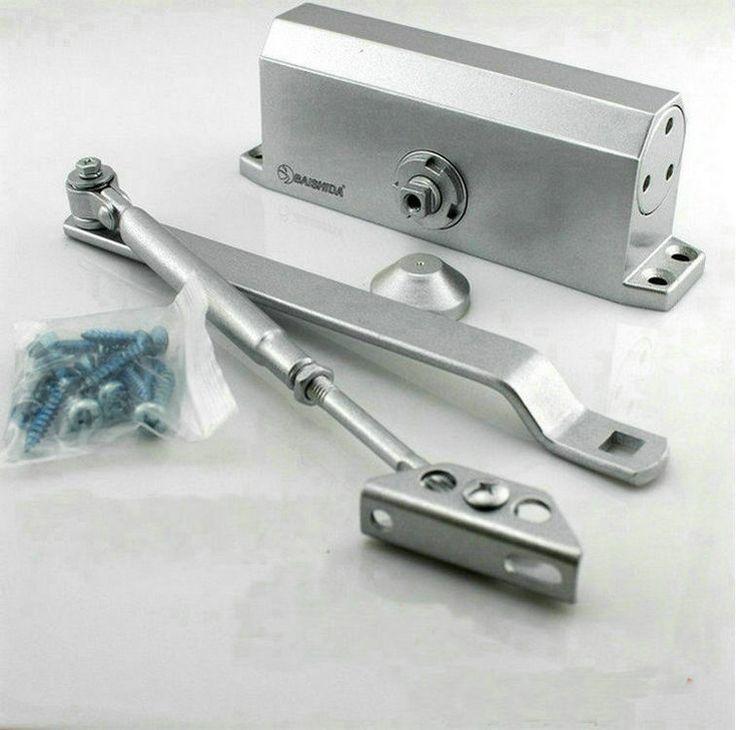 Household Door Hardware138 Model Small Type 90 Degree NO Positioning Household Heavy Duty Hydraulic Door Closer Door Shutter
