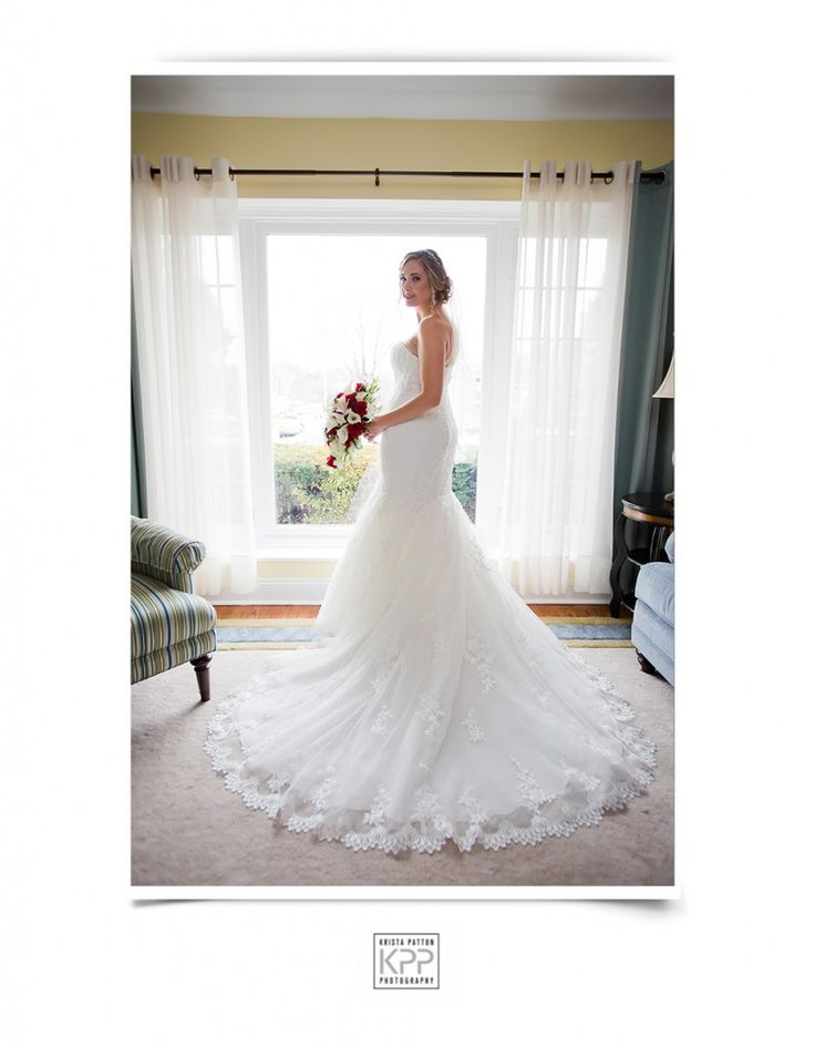Cara and JC | Hotel DuPont - Krista Patton Photography | Philadelphia Wedding | Beautiful Bride in a Gorgeous Gown