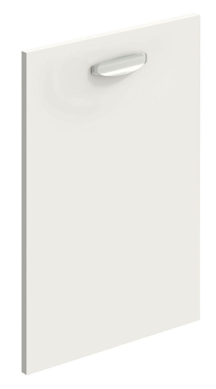 White matt replacement kitchen door