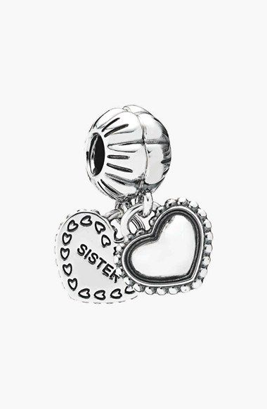 PANDORA 'My Special Sister' Dangle Charms (Set of 2) available at #Nordstrom