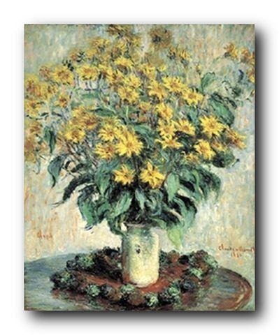 Claude Monet Sunflowers Floral Wall Decor Art Print Poste... https://www.amazon.com/dp/B00SL20Y64/ref=cm_sw_r_pi_dp_x_n556xbM4SHVG6