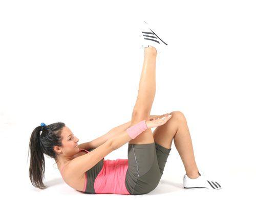Karın, kalça, bacak egzersizleri