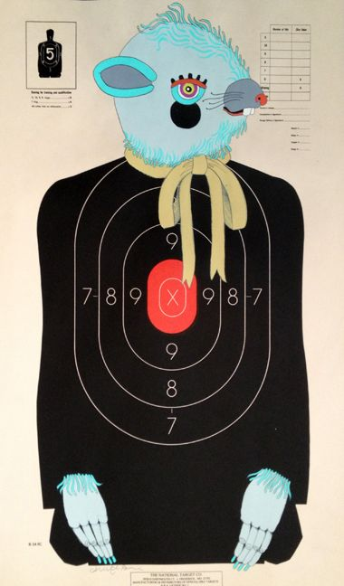 how to make paper targets