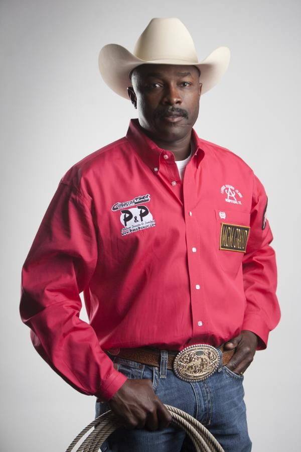 Fred Whitfield, rodeo cowboy. A member of the Professional Rodeo Cowboys Association, he is one of the most recognizable faces in professional rodeo. In addition to being one of the most winning cowboys in the sport, he is one of the only prominent African American competitors. He is also the 1st-ever African American to win the title of World Champion calf roper (winning 6 additional gold buckles), & the 1st African American in the history of the PRCA to be named an All-Around World…