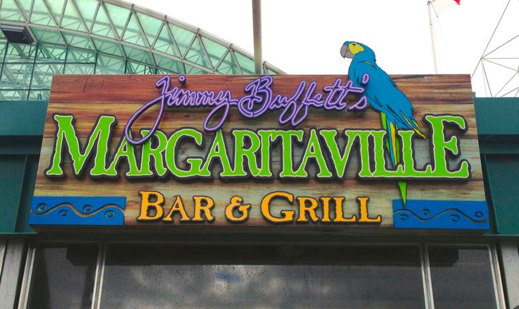 Jimmy Buffett's Margaritaville, Chicago Navy Pier, Fall 2013