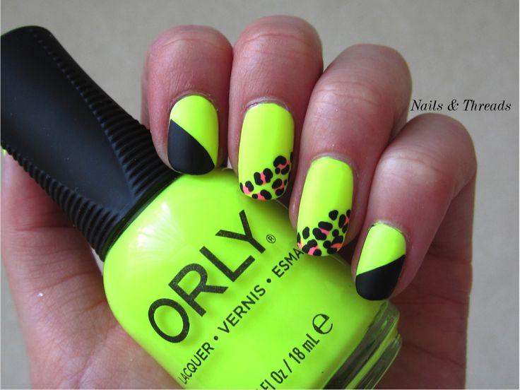 Best 144 Orly Polish Nail Art images on Pinterest | Hair ... Neon Green - Neon Green Nail Polish Designs - Industri.info