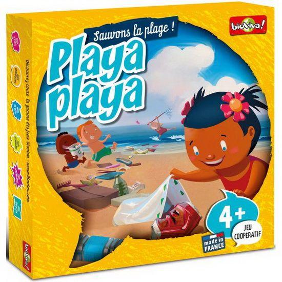 Le jeu playa playa permet aux enfants de découvrir les bienfaits de la protection des espaces naturels. La mission est accomplie lorsque tous les déchets sont découverts et jetés à la poubelle avant que la marée ne monte. Playa Playa de Bioviva fait travaille sur la mémorisation des enfants et il aide à la transmission d'attitudes positives vis à vis de la nature. Ce jeu est éco-conçu, il respecte l'environnement de sa conception à sa livraison.