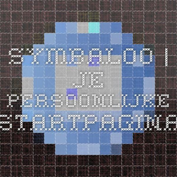 Symbaloo | Je persoonlijke Startpagina
