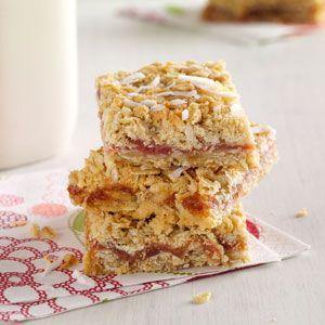 Easy rhubarb squares recipes