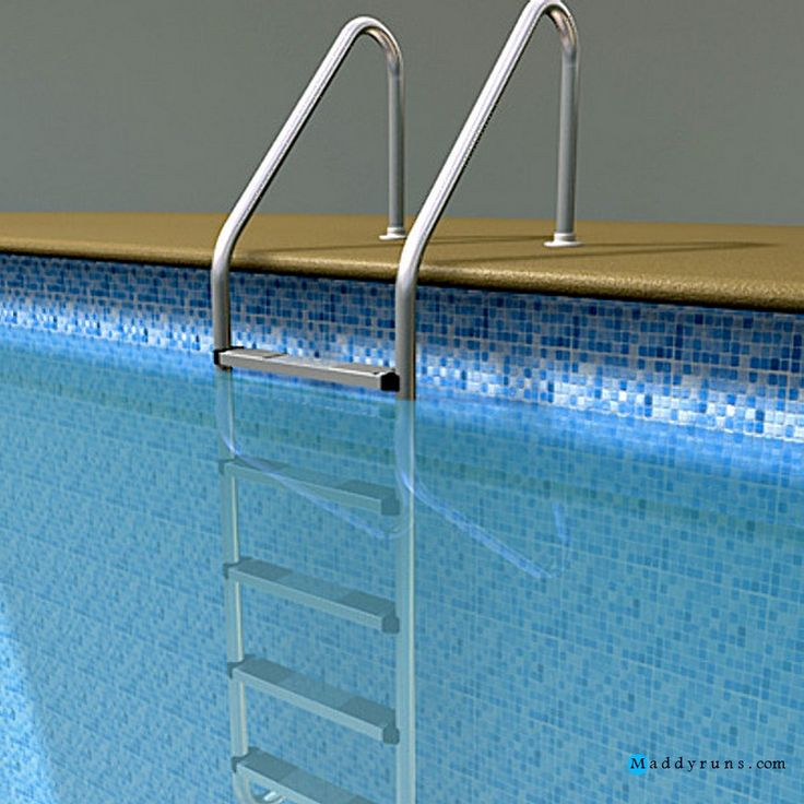 63 best architecture images on pinterest swimming pool ladders above ground swimming pools for Swimming pool ladder replacement parts