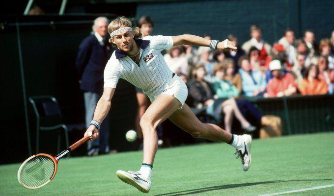 Wimbledon-Legende: Björn Borg in Aktion - 1981 bei Wimbledon