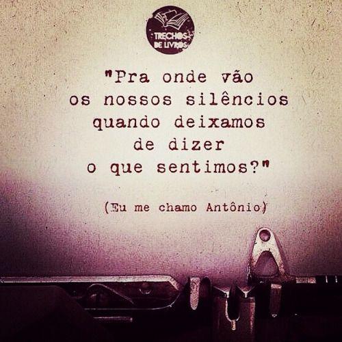 """Poeta Brazuca """"Eu me chamo Antônio"""" <3"""