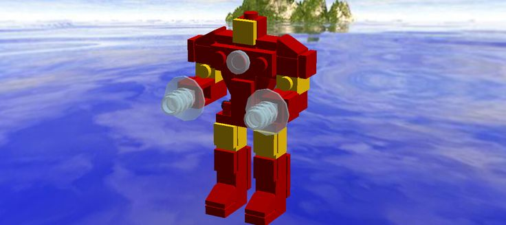 Lego Iron Man mark 3