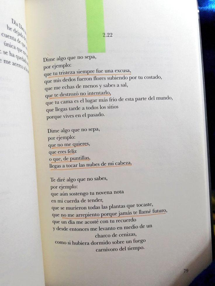 """""""...Llegas tarde a todos los sitios porque vives en el pasado""""  -Elvira Sastre"""