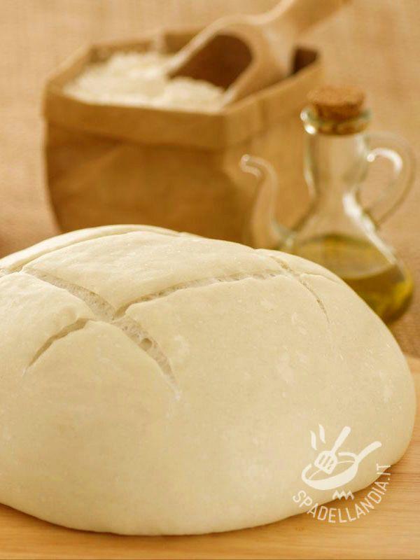 Bread dough without yeast with baking soda - La ricetta Pasta di pane senza lievito con bicarbonato è perfetta per preparare a casa prodotti da forno che facciano rimanere leggeri!