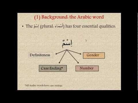 Learn Arabic - [Lesson 1] Arabic Grammar for Understanding the Quran