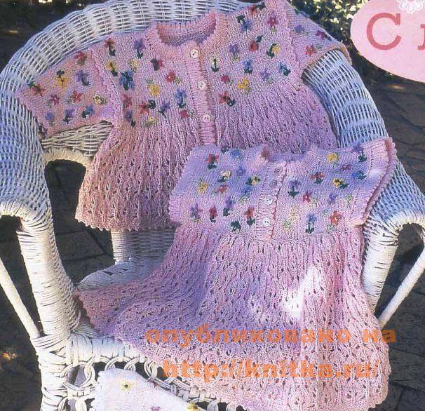 платье для малыша