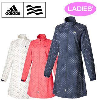 Adidas (아디다스) 2016 JP climaproof 도트 프린트 레인 원피스 JLJ1216FW 레인 웨아 비옷