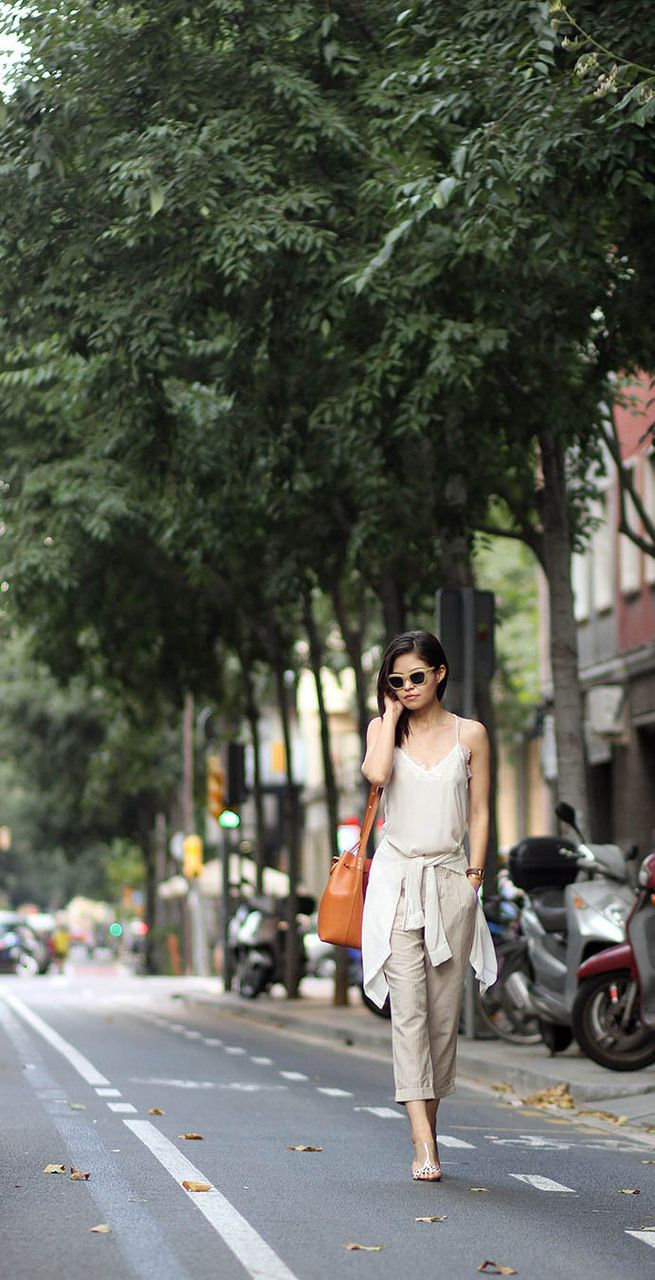 This cami is the perfect street style piece.