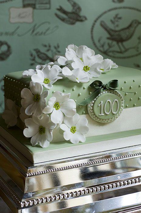 100th birthday cake