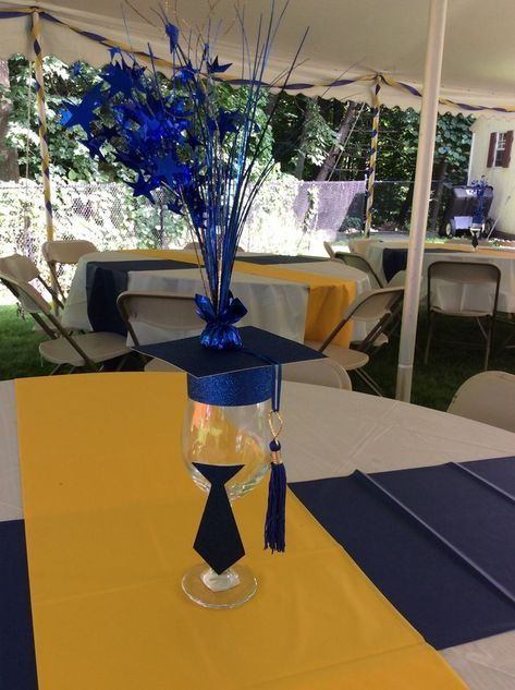 Image Result For Graduation Centerpieces For Guys Graduation Party