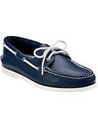 Sperry Topsider A/O 2 Eye Boat Shoe  #davidjones #sperrytopsider #footwear #blue