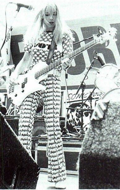 Kim Gordon of Sonic Youth