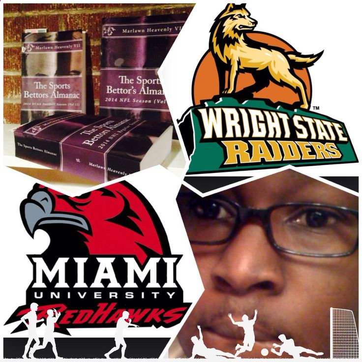 12/14/14 NCAAM #MiamiOhio #Redhawks vs #WrightST #Raiders (Take: RedHawks  8.5) SPORTS BETTING ADVICE On 99% of regular season games ATS including Over/Under The Sports Bettors Almanac available at www.Amazon.com TIPS ARE WELCOME : PayPal - SportyNerd@ymail.com Marlawn Heavenly VII #NFL #MLB #NHL #NBA #NCAAB #NCAAF #LasVegas #Football #Basketball #Baseball #Hockey #SBA #401k #Business #Entrepreneur #Investing #Tech #Dj #Networking #Analytics #HipHop #MYTH7 #TBE #sportsbetting