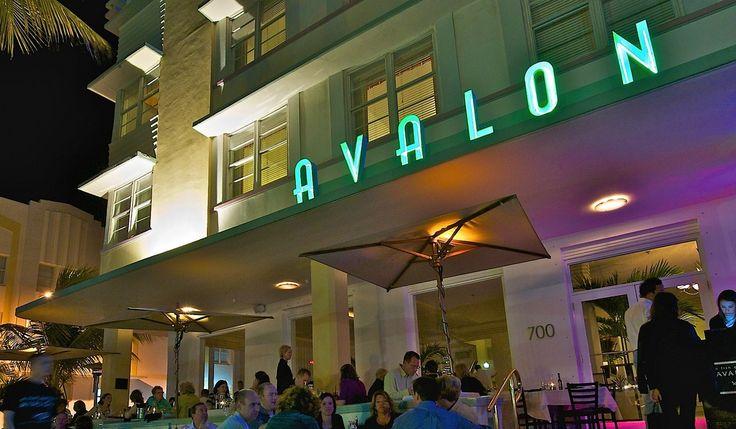Hotels on Ocean Drive Miami | Avalon Hotel | Miami Beach