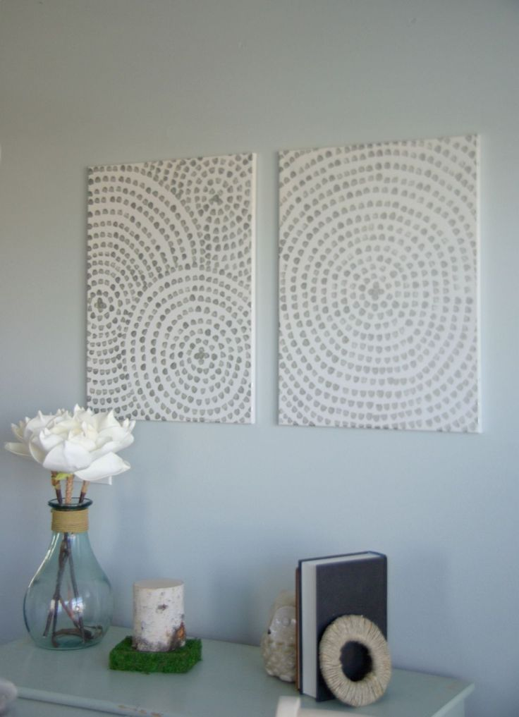 DIY Canvas Wall Art   A Low Cost Way To Add Art To Your Home