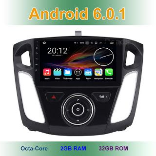 9 8 Octa Core Android 6.0.1 Car DVD Radio head unit for Ford Focus 3 2011 - 2017 with WiFi GPS 2GB RAM (32801575087)  SEE MORE  #SuperDeals