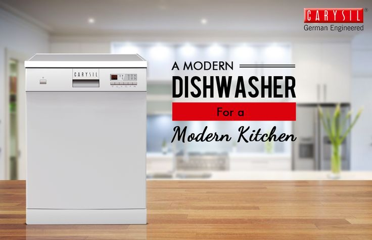 Update your kitchen with Carysil's amazing dishwashers. #CarysilKitchen #Dishwasher #Kitchen