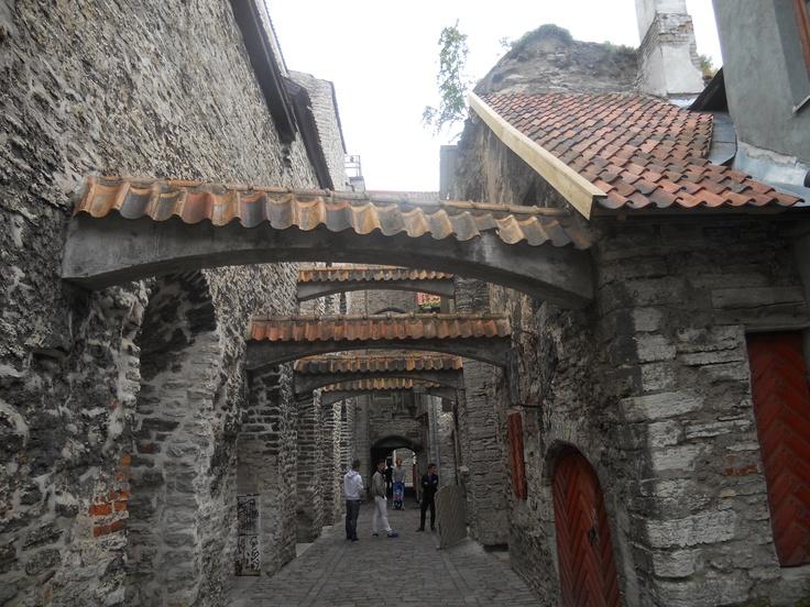 Tallinn, a hidden alley