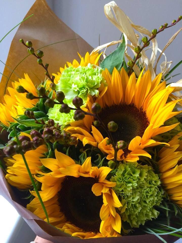 Sunflower bouquet by ROSMARINO / Slunečnice :)