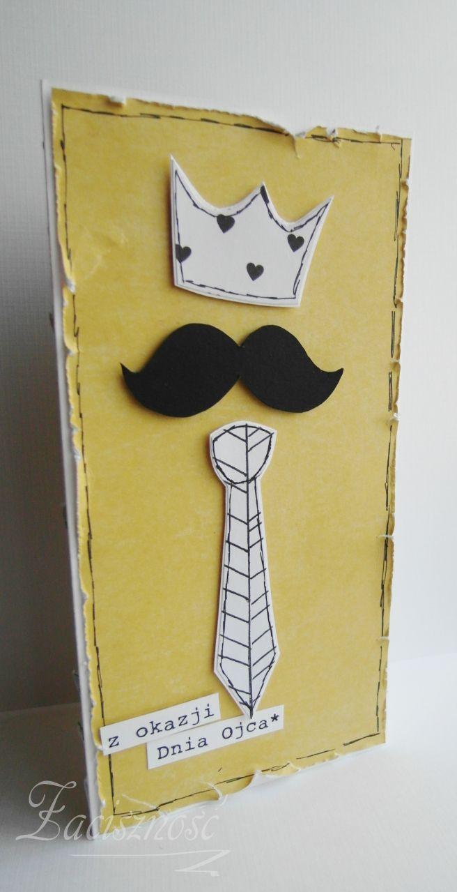 Ręcznie robiona kartka z okazji Dnia Ojca/ Father's Day card