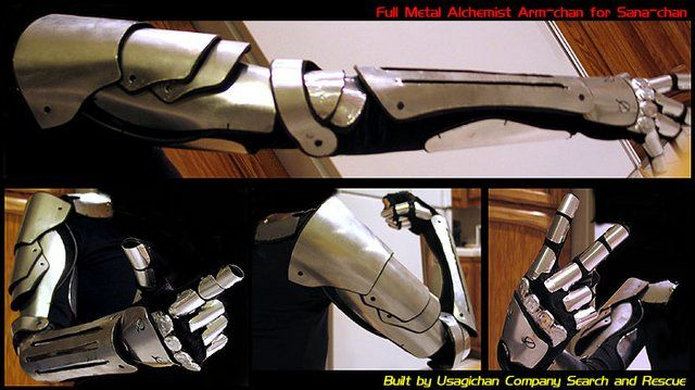 FULL METAL: alquimista de acero..... cosplay