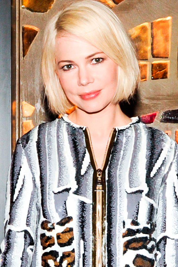 Bob hairstyles are one of the best ways to transform your look in an instant. Michelle Williams