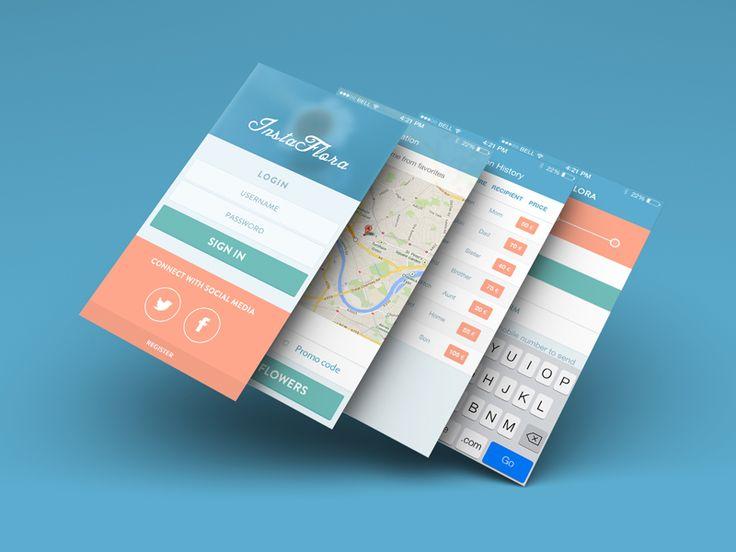 InstaFlora iOS 7 App by Balraj Chana